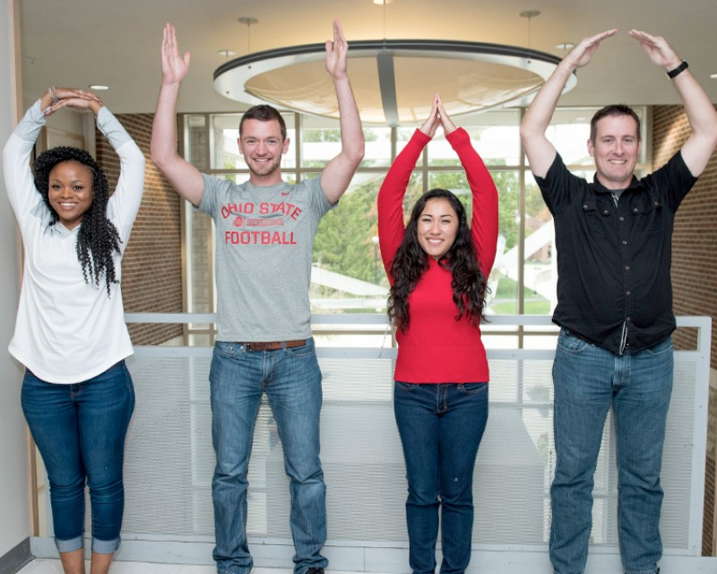 Ohio State Students O-H-I-O